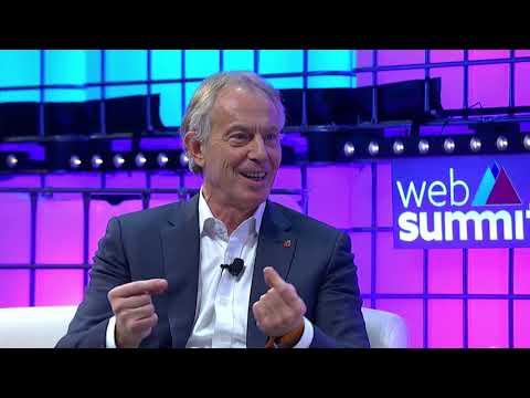 Tony Blair in conversation