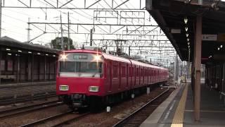 名鉄6500系+6800系 急行 豊川稲荷行き 二ツ杁駅通過
