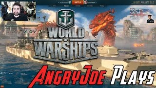 Repeat youtube video AngryJoe Plays World of Warships! [+Giveaway!]