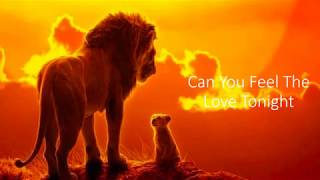 Baixar Can You Feel The Love Tonight Lion King Lyrics Video Beyoncé, Donald Glover