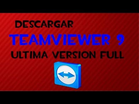 Descargar TeamViewer 9 l Ultima Versión l Full l En Español l HD
