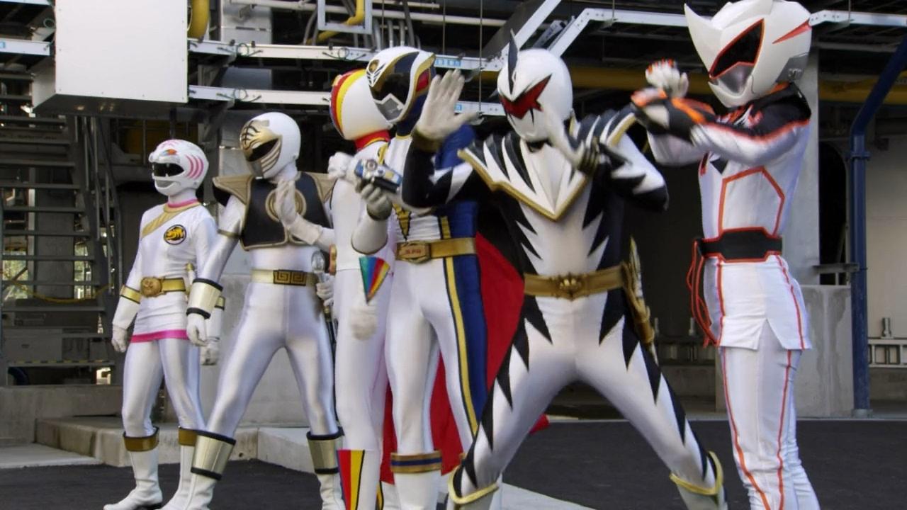 Legacy of power white rangers youtube voltagebd Images