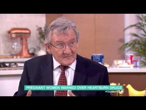 Pregnant Women Warned Over Heartburn Drugs   This Morning