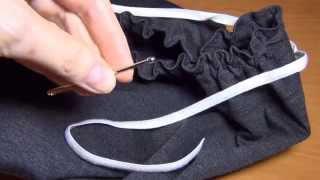 Приспособление для продёргивания резинки(Очень простое приспособление для шитья понадобится каждой хозяйке, даже если она не имеет навыков кроя..., 2014-10-06T05:16:36.000Z)