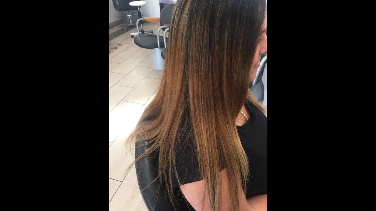 Tie and dye blond et caramel youtube - Tie and dye caramel ...
