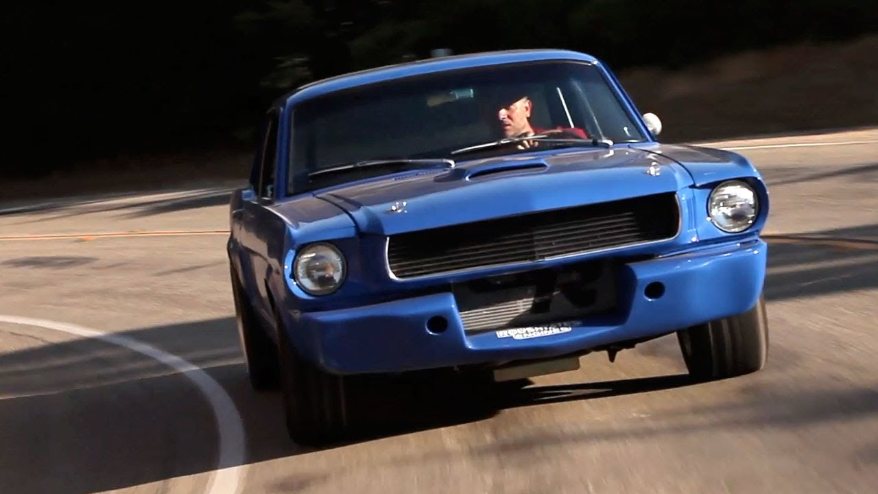 Maier Racing Mustang More Grip Than A Gt3 Big Muscle