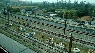 Trem CPTM Manutenção Preventiva. SP-BR