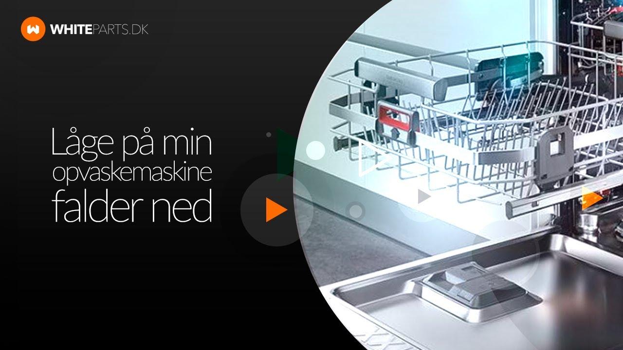 1a43b1098 Låge på opvaskemaskine falder ned - Udskiftning af hængsler på Bosch og  Siemens opvaskemaskine.