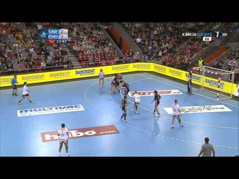 Larvik HK vs Győri Audi ETO KC - EHF CL Teljes mérkőzés Full match in HD 28 02 2015