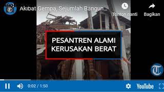 Gempa Terkini!! Gempa Bumi 5,7 Magnitudo Guncangcilacap Jawa Barat