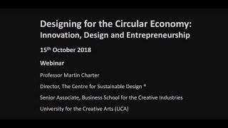 Webinar Recording: Designing for the Circular Economy