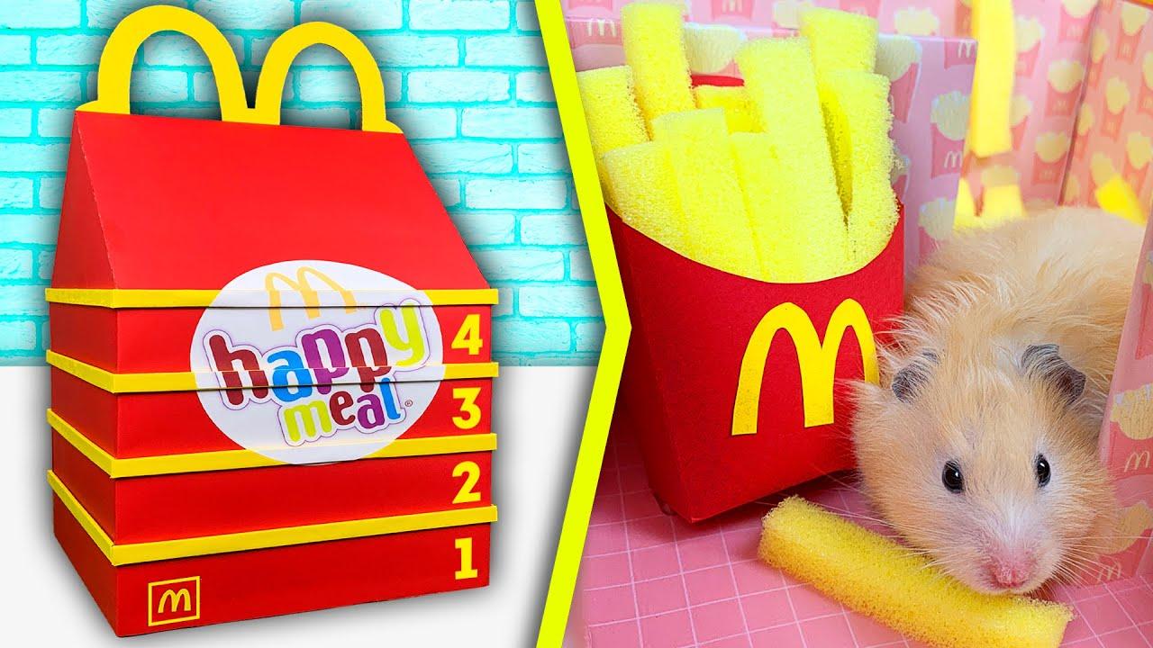 Hamster in McDonalds - Happy meal Maze