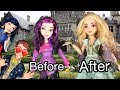 Mal Gets a Blonde Makeover!! Disney Descendants 2 Doll Series Episode 1