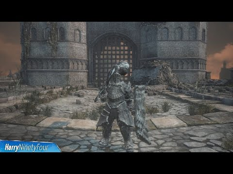 Dark Souls 3 - Havel's Armor Set, Weapon and Greatshield Location