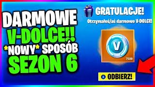 V-DOLCE FOR FREE-* NEW WAY * FOR SEASON 6 FREE V-BUCKS in Fortnite Battle Royale