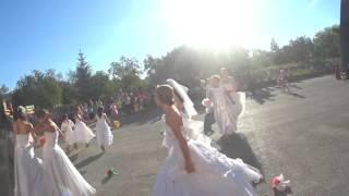 Парад невест .г Карталы. Honda cbr 600 f4i