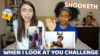 When I look at You Challenge - Jenzen Guino & Lola Precy Mortel (REACTION) l WHO SANG IT BETTER?!