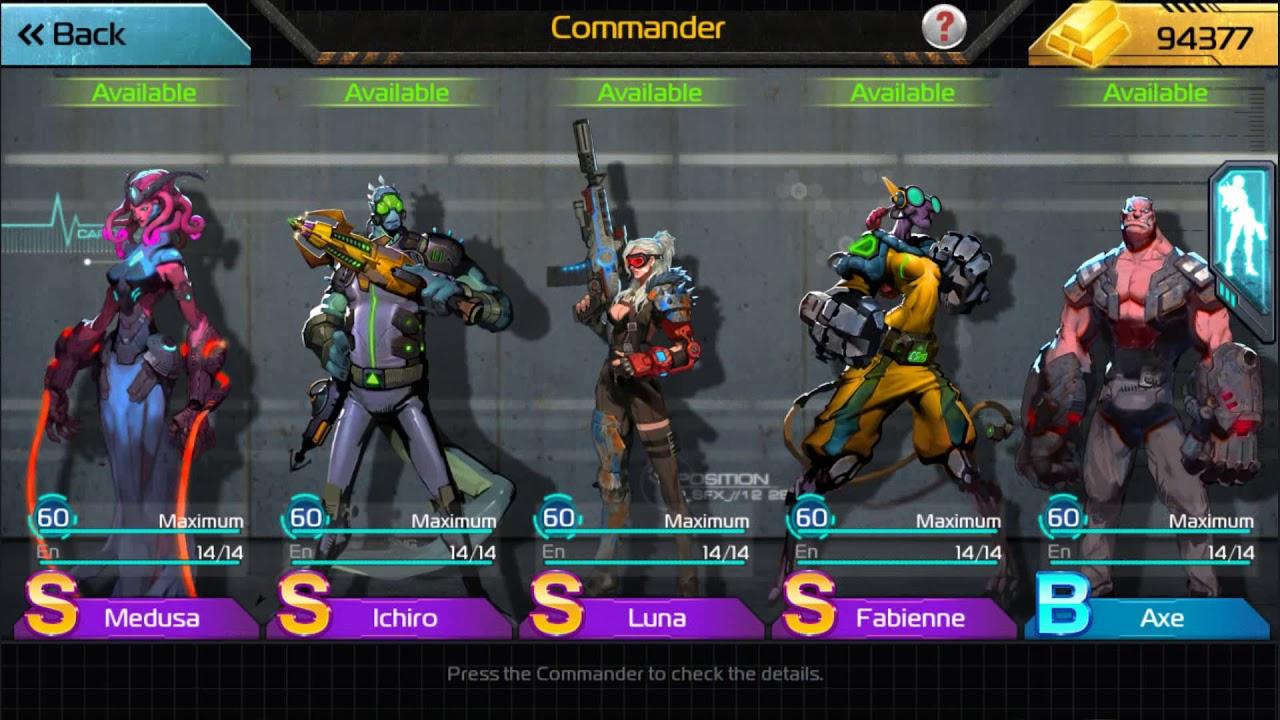 ark of war free commander event