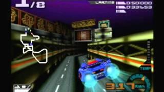 [N64] Aero Gauge Gameplay
