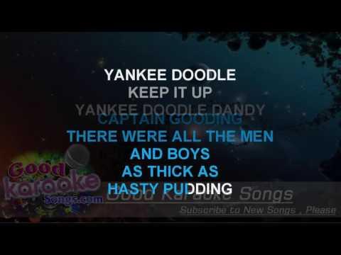 Yankee Doodle  - Traiditional (Lyrics Karaoke) [ goodkaraokesongs.com ]