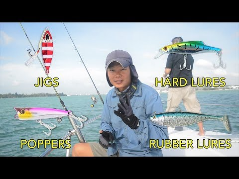 Jigging And Luring In Singapore Waters - Ep. 19