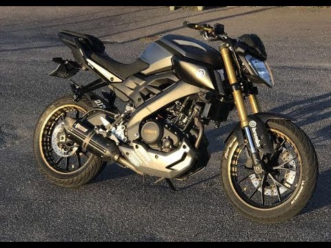 yamaha mt 125 tuning story youtube