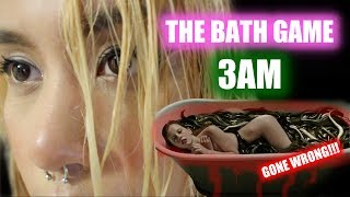 THE BATH GAME AT 3 AM GONE WRONG (DARUMA APPEARED)(SHE TALKS!)(PARANORMAL ACTIVITY)