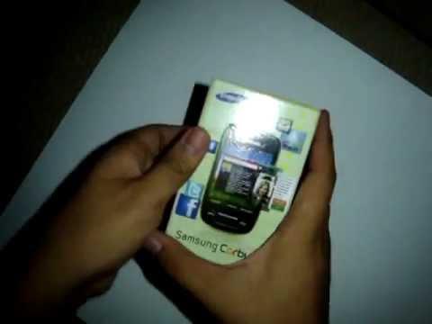 Samsung Corby II unbox