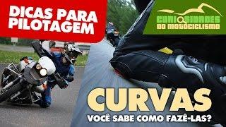 APRENDA O BÁSICO SOBRE CURVAS EM MOTOS + CONTRA ESTERÇO