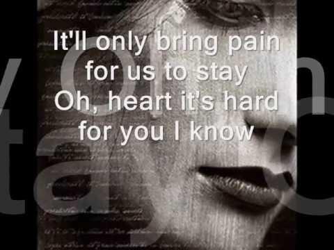 HEART, DON'T CHANGE MY MIND-Barbra Streisand (lyrics)