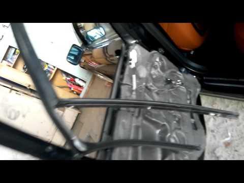Вырезаем задние дверные стекла Bmw E46 Touring