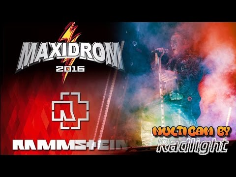 RAMMSTEIN - Live @ MAXIDROM 2016, Moscow. 19.06.2016.Full show - Multicam by Radlight