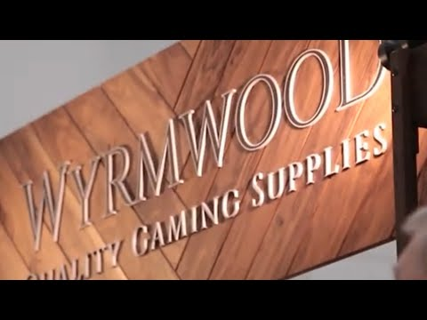 Wyrmwood Gaming Tables And Accessories | Gamehole Con 2019