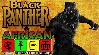 BLACK PANTHER AND THE MIRACLE LEAF PLANT?