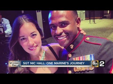 Marine Sgt. Nic Hall's story