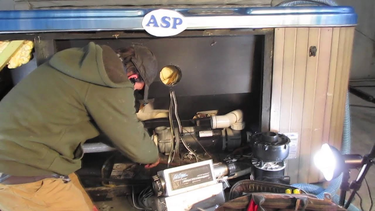 hight resolution of cal spa dually retrofit how to video the spa guy hot tub parts of america