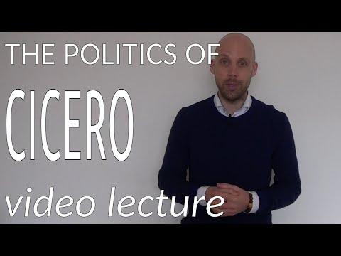 The Politics of Cicero (video lecture)