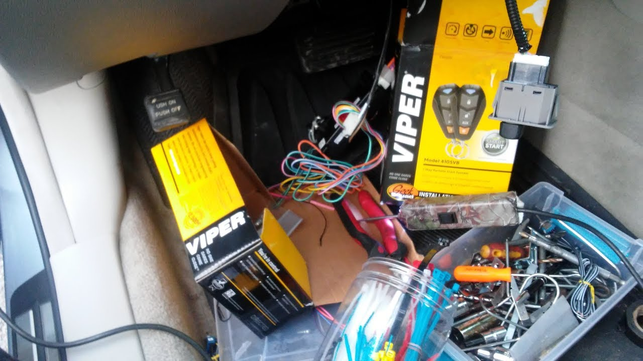 how to install a viper 4105v remote start idatalink ads alca flcan on a honda crv [ 1280 x 720 Pixel ]