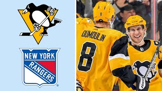 Pittsburgh Penguins vs. New York Rangers | EXTENDED HIGHLIGHTS | 2/17/19 | NHL on NBC