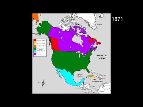 Territorial Evolution of North America