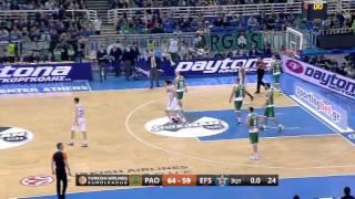 Maç Özeti | Panathinaikos - Anadolu Efes