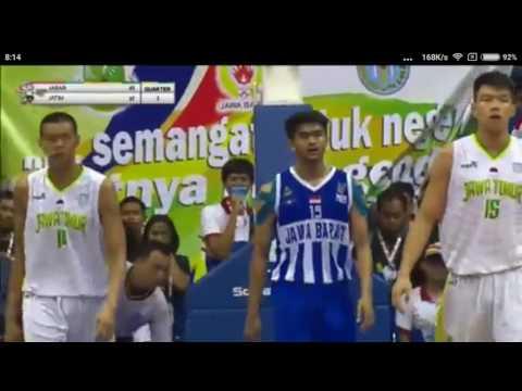 PON Jabar Basket Final Q3 4