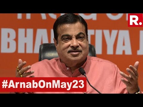 WATCH: Union Minister Nitin Gadkari Addresses News Briefing In Nagpur | #ArnabOnMay23