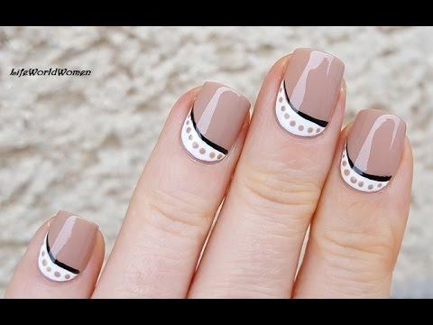 Diy easy brown white nail art lifeworldwomen youtube diy easy brown white nail art lifeworldwomen prinsesfo Image collections