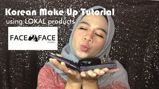 KOREAN MAKE UP TUTORIAL + FACE2FACE REVIEW