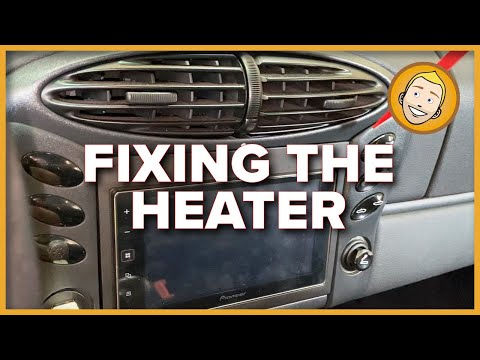 How to FIX THE HEATER in your Porsche! Foam pieces from the vents?