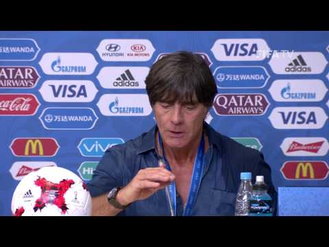 CHI v. GER - Joachim LÖW - Germany Post-Match Press Conference