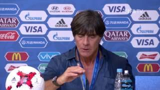 CHI v. GER - Joachim LÖW - Germany Post-Match Press Conference