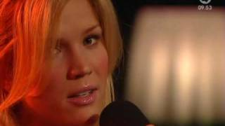 Marie Serneholt - Wasted Love (Live Tv4 Nyhetsmorgon 09-04-06)
