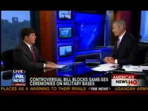 Palazzo Discusses Defense of Marriage Act Amendment on Fox News